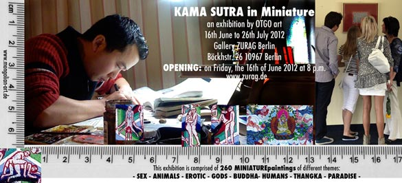 Kama Sutra - Art Exhibition by OTGO art Berlin 2012